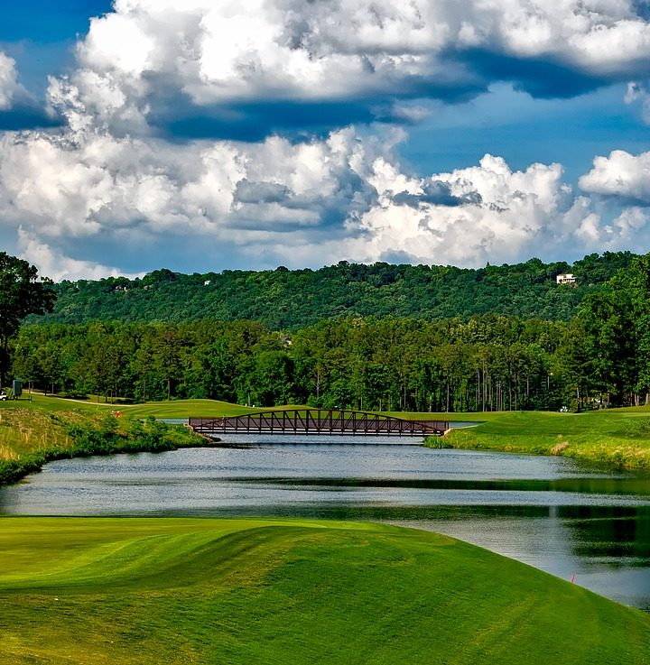 Where In The World Would You Want To Go Golfing?